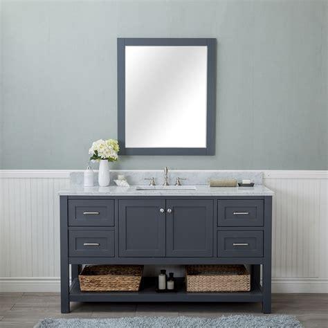 alya bath wilmington   single bathroom vanity  gray