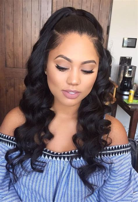 Sew In Hairstyles For Teenagers by Weave Curly Hairstyles Hair Styles For