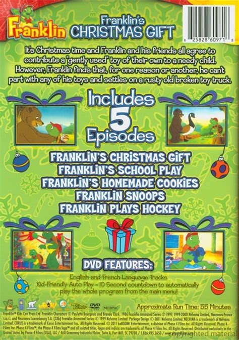 top 25 christmas gifts for 4 year old franklin franklin s gift dvd dvd empire