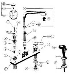 delta kitchen faucet parts diagram two handle washerless high spout kitchen faucets diagram