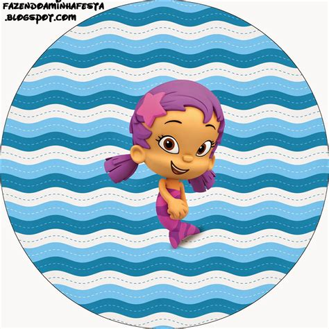 Bubble Guppies Free Printable Candy Bar Labels Oh My