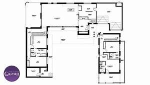 Maison Architecte Plain Pied : plan maison californienne plain pied clairage maison d architecte contemporaine californie bord ~ Melissatoandfro.com Idées de Décoration