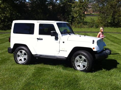 new jeep white white jeep wrangler sahara booley 39 s new ride