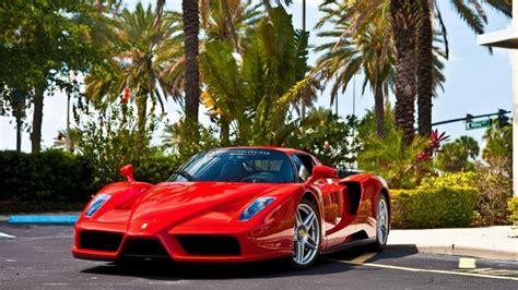 Ferrari Enzo Red Car Hd Wallpaper