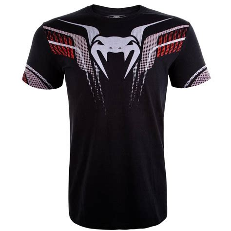 Tshirt Venum Martial venum clothing t shirt elite 2 0 black venum fightshop