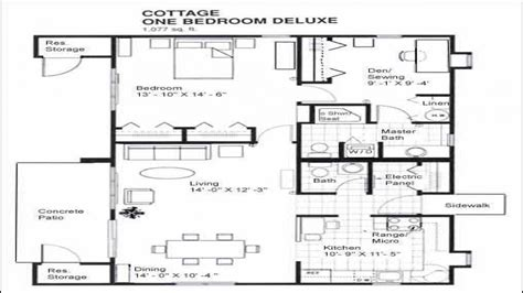 1 Bedroom Cabins Designs 1 Bedroom Cabin Floor Plans, One