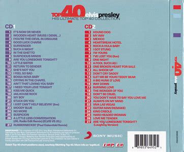 Top 40 Elvis Presley  His Ultimate Top 40 Collection