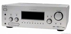 Sony Str-db798 - Manual - Multi Channel Av Receiver