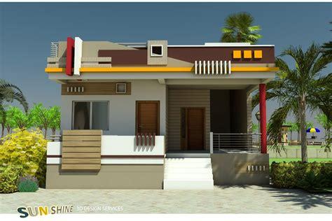 single floor design small house elevation design house