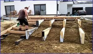 Rigipsdecke Unterkonstruktion Holz : terrassentreppe holz unterkonstruktion hauptdesign ~ Frokenaadalensverden.com Haus und Dekorationen
