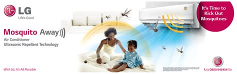 mosquito away lg unveils groundbreaking mosquito away rac with ultrasonic wave technology to keep families