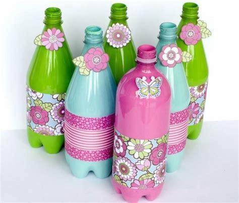 recup deco bouteille plastique que faire avec des bouteilles en plastique 54 id 233 es de recyclage cr 233 atif