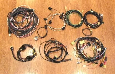 Chevy Wire Harness Kit Nomad With Generator Wiring Ebay