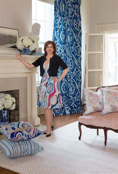 Color Style Tips Designer Tobi Fairley by Tobi Fairley Launches Debut Collection With Duralee Rue