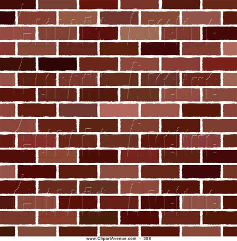 Brick Clipart Royalty Free Wall Stock Avenue Designs