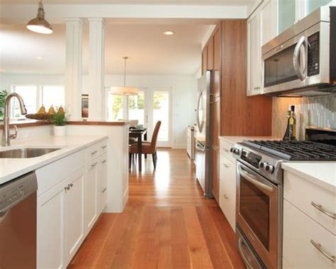 opening up a galley kitchen home design ideas renovations