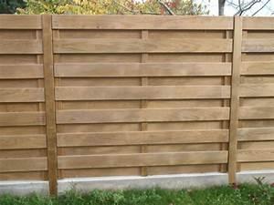 Cloture Bois Design : cloture en bois recherche google cloture concrete fence privacy fence designs et fence design ~ Melissatoandfro.com Idées de Décoration