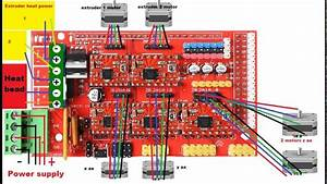 How To Wire A 3d Printer Arduino Ramps 1 4 A4988 Stepper Motor Driver
