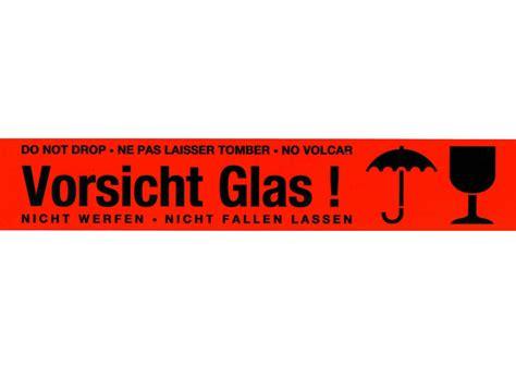 """Vordruck vorsicht glas / vorsicht zerbrechlich baby langarmshirt 50 x kleines etikett vorsicht glas 51×25 mm aufkleber 50 teil von aufkleber zerbrechlich ausdrucken. PVC Warnklebeband 555 - """"Vorsicht! Glas"""""""