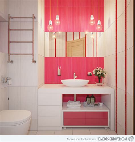 15 chic and pretty pink bathroom designs home design lover