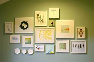 original way to decorate interior with gallery wall frames With when looking for the right gallery wall frames