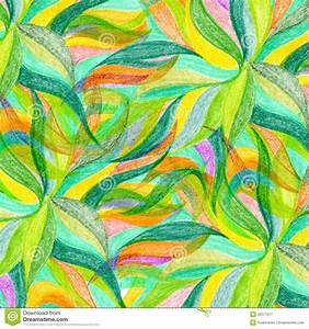 Abstract Color Pencil Draw Background Royalty Free Stock ...