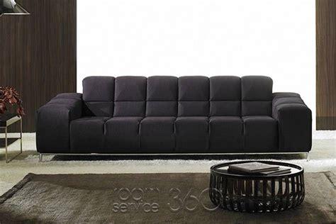 Leather Sofa Contemporary Design by Panda Modern Italian Sofa By Polaris 17359 Home