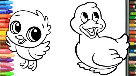 Cómo Dibujar y Colorear animales Dibujos Para Niños