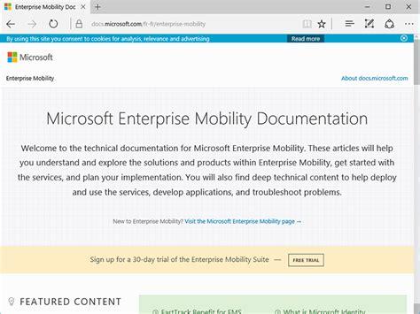 si鑒e de microsoft docs microsoft com un nouveau site de documentation plus moderne cnet
