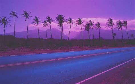purple aesthetics computer wallpapers