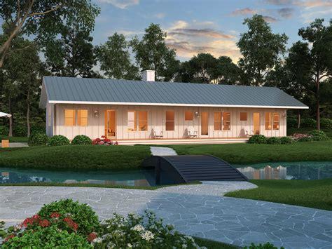 Ranch Style House Plan  2 Beds 2 Baths 1480 Sqft Plan #8884