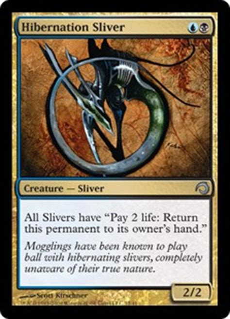 Sliver Deck Modern M15 by There Are New Slivers In M15 Magictcg