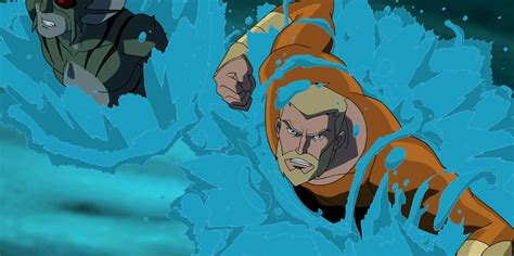 young justice changed  mind  lame boring aquaman