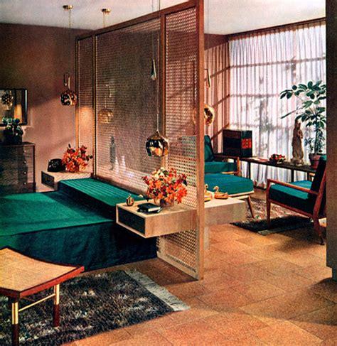 plan59 retro 1940s 1950s decor furniture boudoir 1955