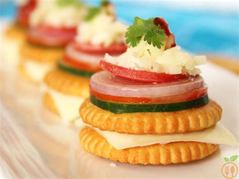 canape toppings monaco biscuit canapes how to monaco biscuit toppings