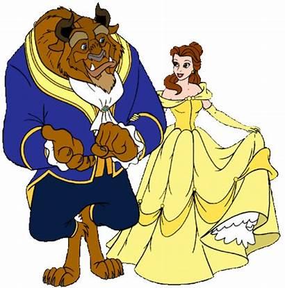 Beast Beauty Belle Disney Clipart Princess Clip