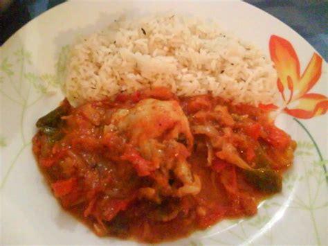 poulet basquaise  son riz pilaf recette ptitchef