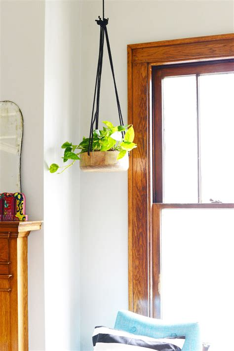 diy hanging planter diy wooden hanging planter