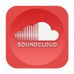 SoundCloud Icon - Red Social Media Icons - SoftIcons.com