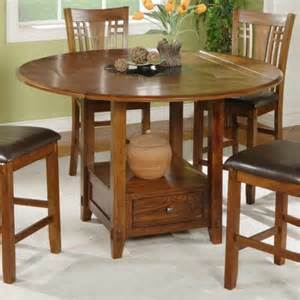 winners only zahara round counter height dining table with