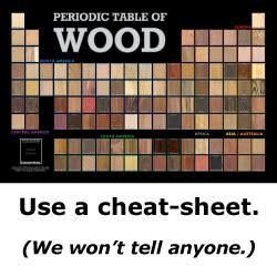 wood identification    love woodworking