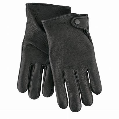 Gloves Glove Wing Driving Nero Driver Pelle