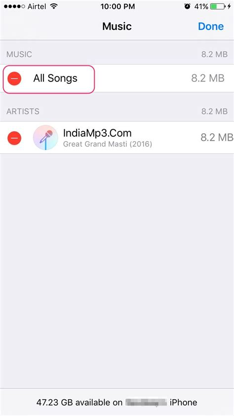 delete song from iphone how to delete songs from iphone and easy step by