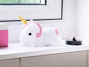 Color Changing LED Unicorn Bath Plug Gadgetsin