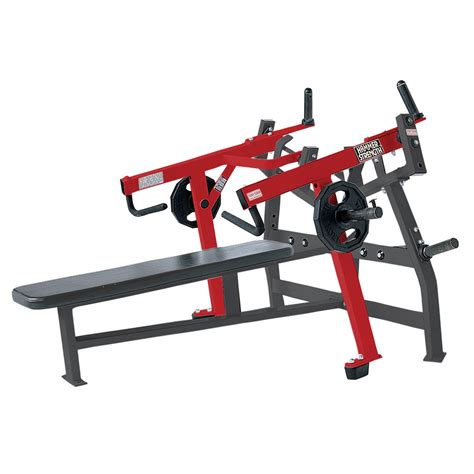 used weight bench hammer strength plate loaded iso lateral bench press