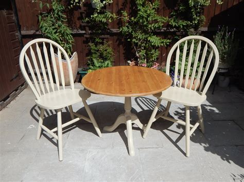 Lovely Shabby Chic Bistro table & 2 chairs # # # SOLD