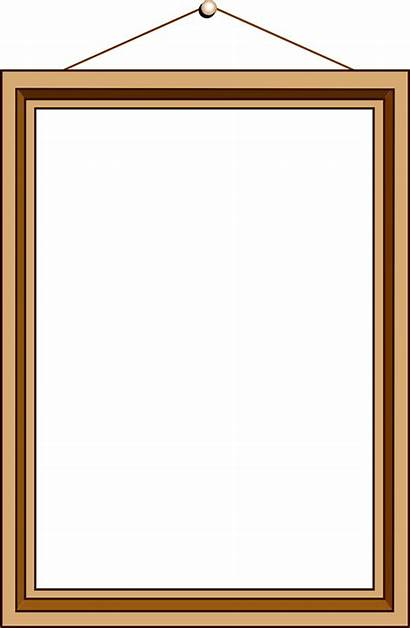 Frame Clip Blank Frames Clipart Hanging Empty