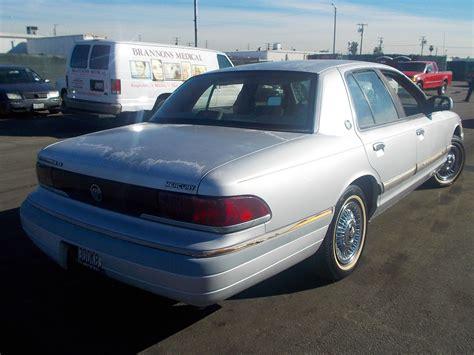 1993 Mercury Grand Marquis Gs Sedan 4-door 4.6l No Reserve