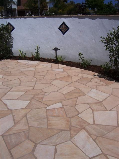 flagstone in concrete the 2 minute gardener photo flagstone over concrete patio