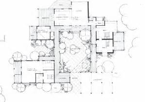 home plans with courtyards courtyard house plan architecture